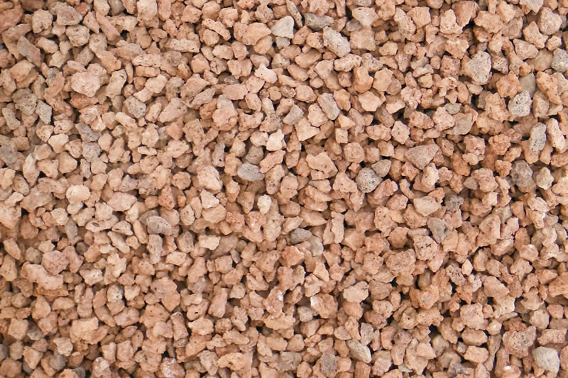 Pink Crushed Stone : Oz pebble crushed stones scoria landscaping filtration